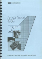 Flight Automation Research Laboratory, Annual Report, 1989